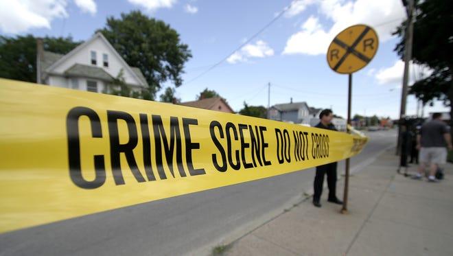 File photo of a crime scene in Rochester.
