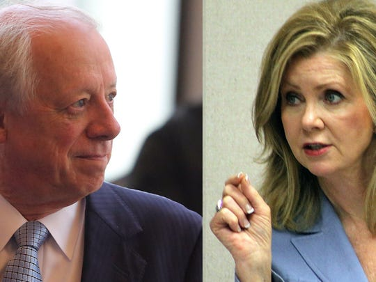 Former governor Phil Bredesen and U.S. Rep. Marsha Blackburn are running for the U.S. Senate.