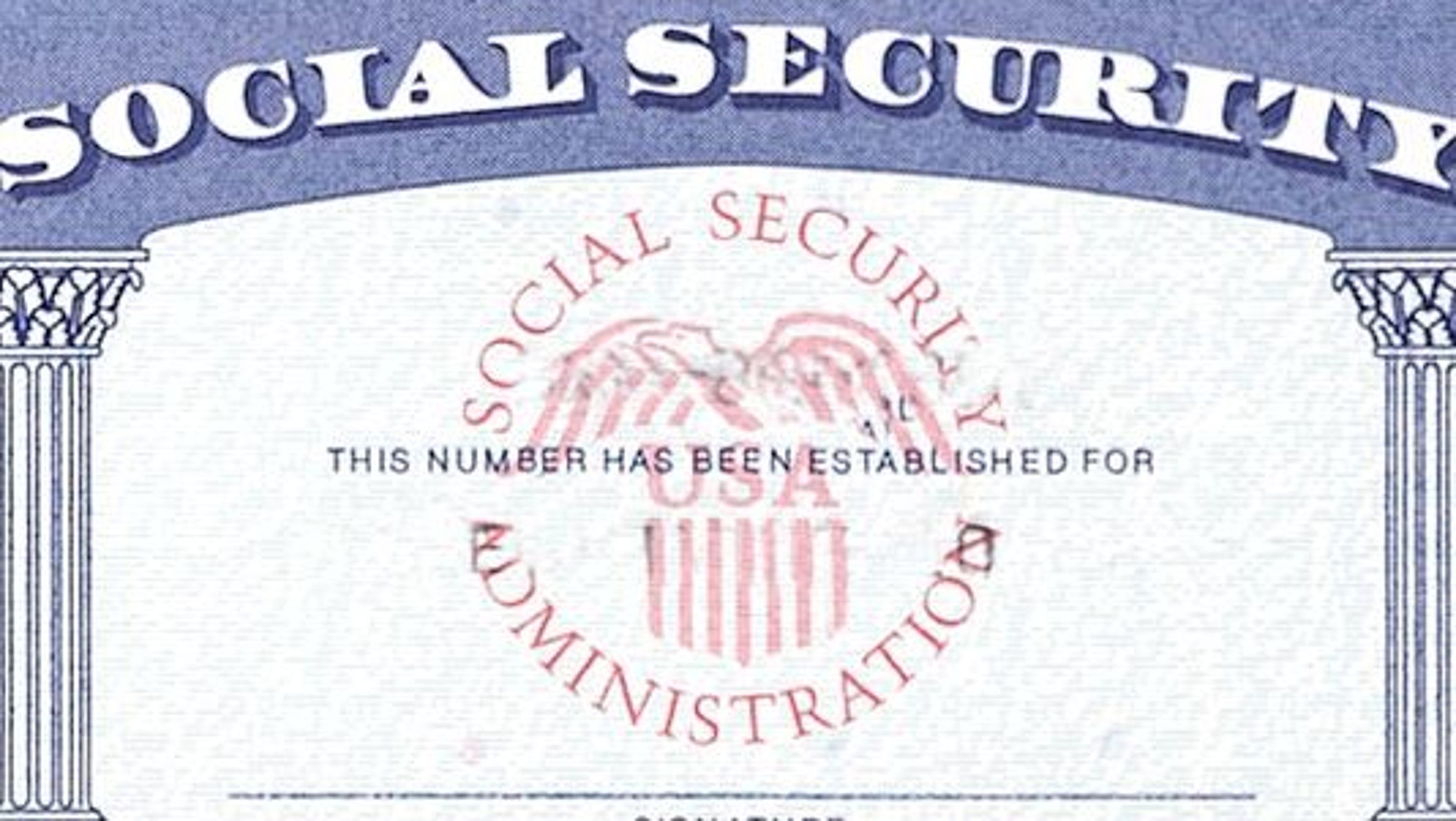 Social security card template pdf bing images