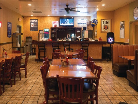 The inside of Bayou Grill