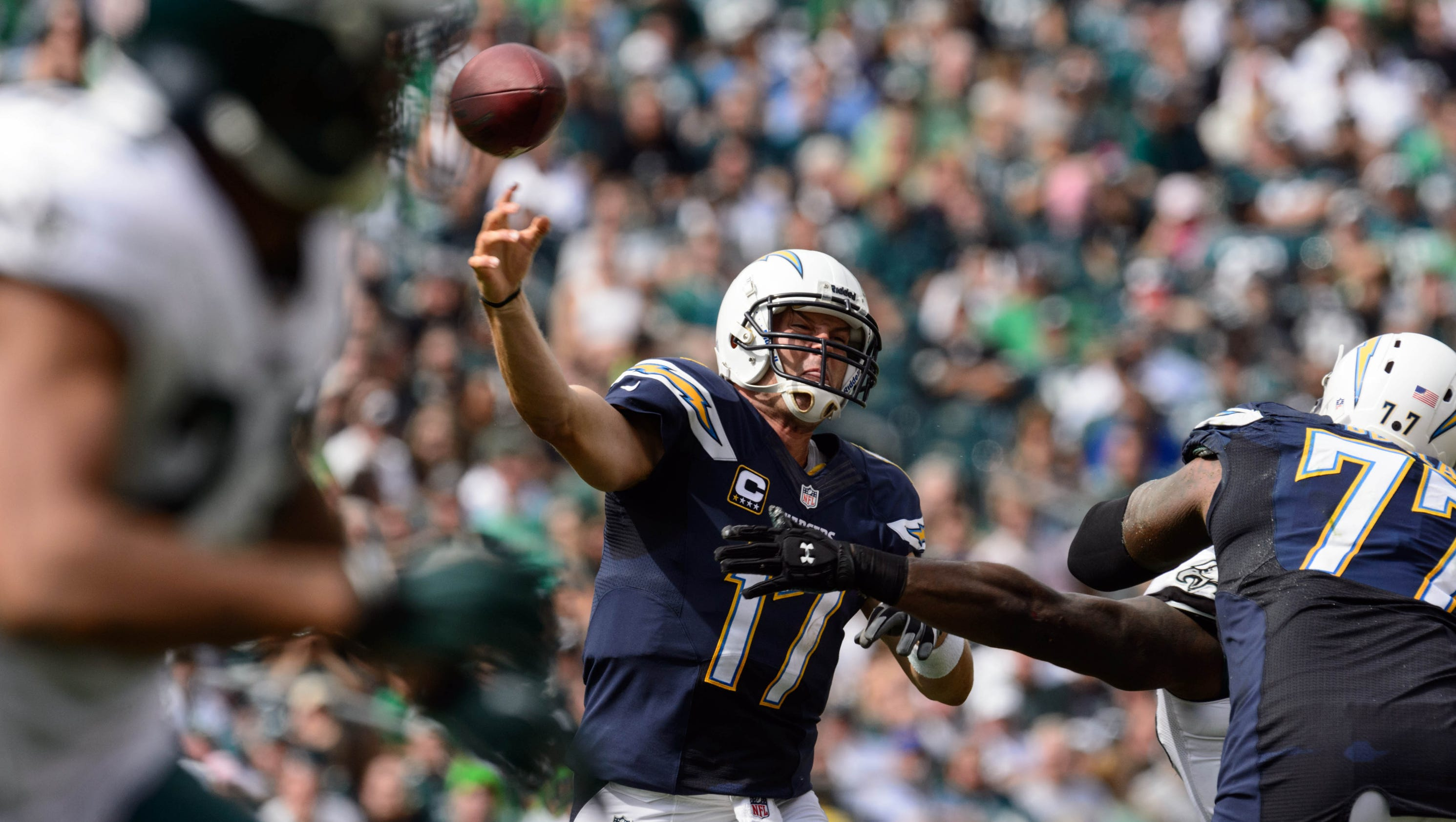 Philip Rivers Chargers Outlast Eagles For Shootout Win