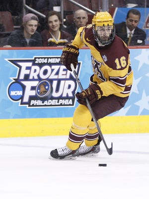 Wausau West grad and former Gopher Nate Condon signed with the Gwinnett Gladiators, a East Coach Hockey League team, Wednesday.