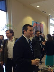 Ted Cruz spoke to a group of evangelical Christian
