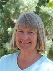 "Marcy Scott is a local birder, and author of the recently published book, ""Hummingbird Plants of the Southwest."""