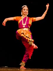 Rekha Srinivasan teaches classical Indian dance at Bhaarat Nritya Academy in Bridgewater, which she founded in 2006.  The school is one of several in New Jersey that specialize in classical Indian dance.    Photo courtesy of Rekha Srinivasan