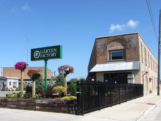 Garten Factory, 24 S. Brooke St., Fond du Lac.