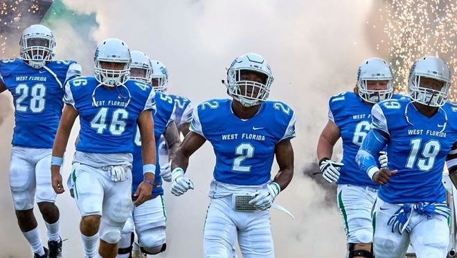 West Florida's football program is in its second season of competition.