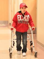 Los niños se rehabilitan en el Phoenix Children's Hospital.