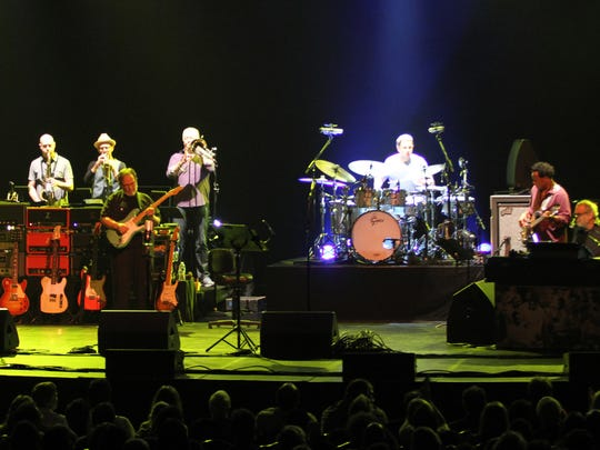 Steely Dan, pictured at the Count Basie Theatre in Red Bank on Sept. 3, 2014.