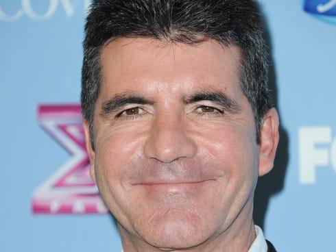 TV personality Simon Cowell