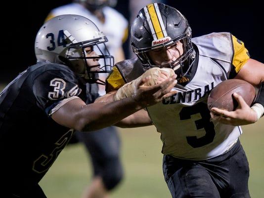 Johnson Central v Moore Football