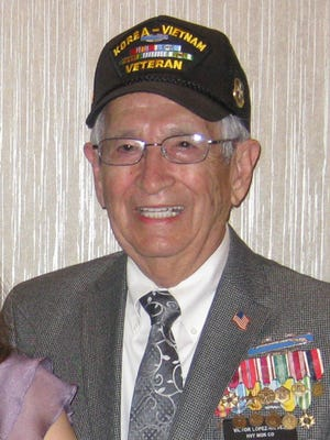 Victor Lopes Nieves fought in both the Korean and Vietnam wars.