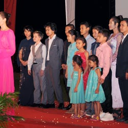 Angelina Jolie and the kids take Hollywood to Cambodia