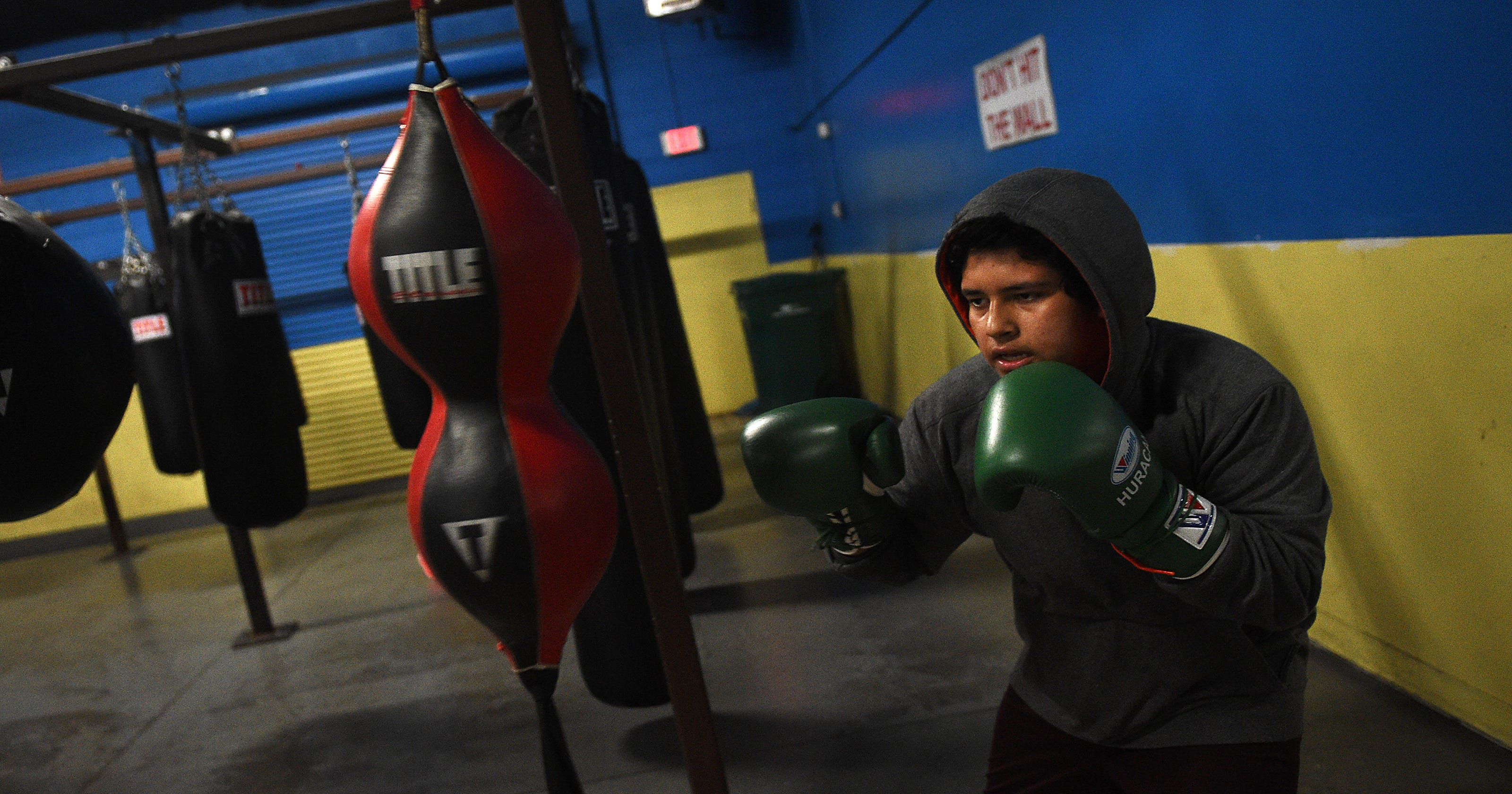 Battle Born Boxing Club Keeps Kids On Right Track