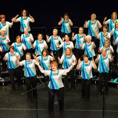 Oregon Spirit Chorus, directed by Kathy Scheel, is giving a free concert  at 7 p.m. May 3 at Salem Elks Lodge. A reception with a no-host bar will follow at 8 p.m.