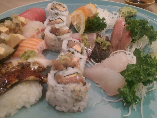 Omakase, a chef's sampling, from Shumi in Somerville.