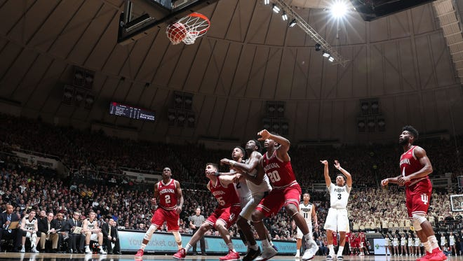 Purdue shot 15 more free throws than IU in Tuesday's Big Ten clincher for the Boilers.
