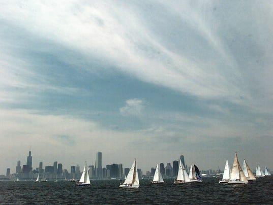 CHICAGO-TO-MACKINAC ISLAND YACHT RACE