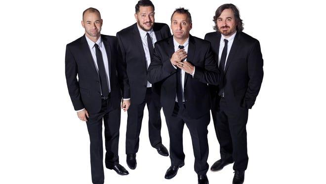 """The Tenderloins, the prankster stars of truTV's """"Impractical Jokers,"""" will play the Weidner Center on June 11."""