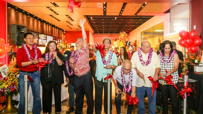 Food and fun were the order of the day during the grand opening of the new Haagen-Dazs Shop at Guam Premier Outlets Saturday.
