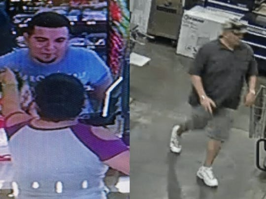 Corpus Christi police are asking the public to help identify these two men who are believed to be involved in a stabbing that happened Sunday, July 2, 2017, in the 1500 block of Airline Road.