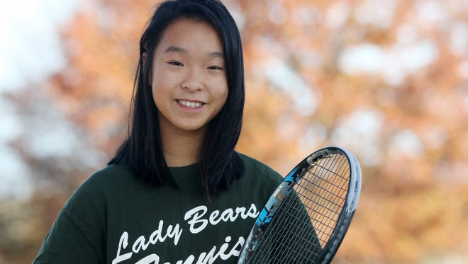 East Brunswick's Jennifer Chen is Home News Tribune Girls Tennis Player of the Year.
