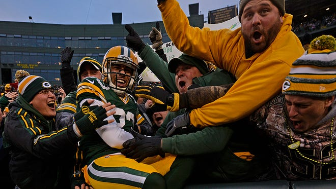The Packers and defensive back Micah Hyde have had plenty to cheer about during their recent winning streak.
