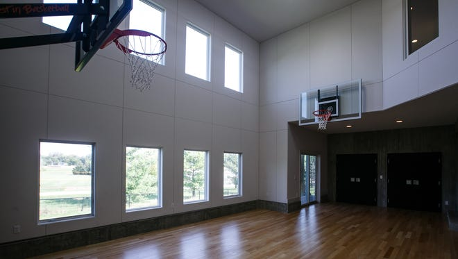 Remodel Tour Features Home For Ultimate Basketball Fan