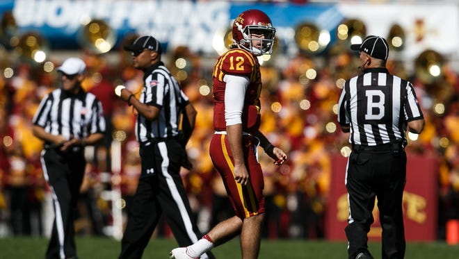 Iowa State quarterback Sam Richardson and the rest of the offense will need to get off to a good start Saturday against third-ranked TCU.