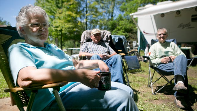 Dexter County Park will be open for camping through the end of November.