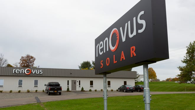 Renovus consolidated from four locations to to a two-building campus at 1520 Trumansburg Road, two miles northwest of Cayuga Medical Center.