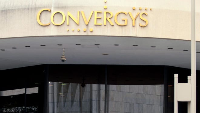 Convergys Corp. garnered a perfect score for treatment of LGBT workers, the Human Rights Campaign reported Wednesday.