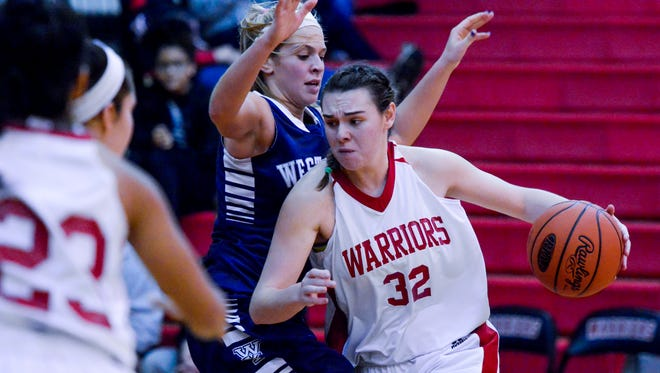 Ashley Stone had 17 points Wednesday night for Susquehannock in a losing cause.