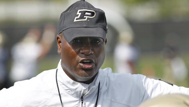 Purdue head football coach Darrell Hazell targeted multi-sport athletes in 2016 class.