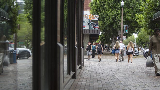 Protesters plan to gather in downtown Tempe on April 29, 2016, to protest the city's new sidewalk law.