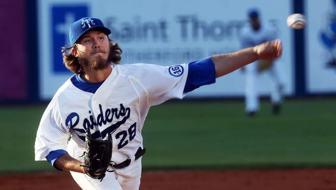 MTSU's Zac Curtis was called up to the majors on Saturday.