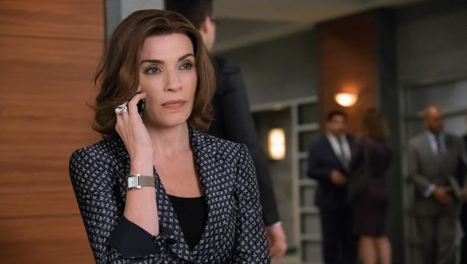 """As Peter's trial begins, Alicia (Julianna Margulies) works to keep her husband from returning to jail as """"The Good Wife"""" series finale nears."""