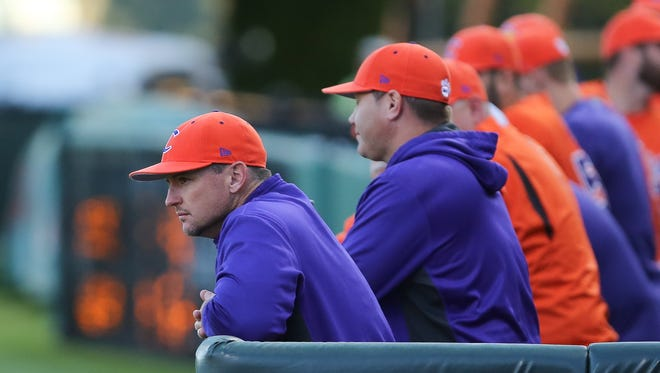 First-year Clemson head coach Monte Lee has guided the Tigers to a 31-16 record.