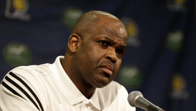 Nate McMillan was promoted to head coach on Monday.