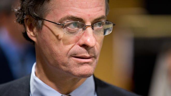 Former Pennsylvania Department of Environmental Protection secretary John Quigley resigned Friday.