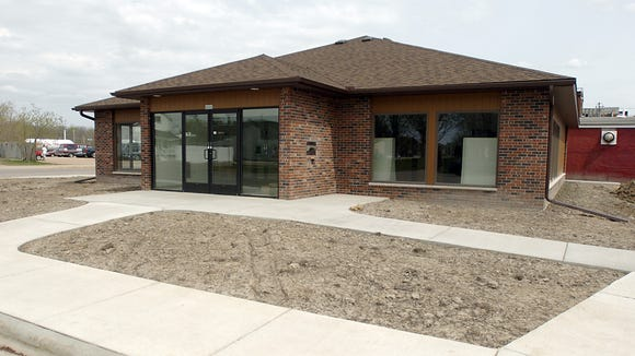 The Lester Public Library of Vesper opened at its location