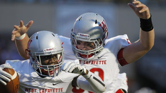 West Lafayette advanced to the Class 3A state championship.