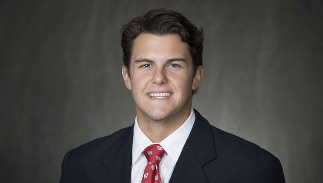 University of Wisconsin football player Anthony Lotti.
