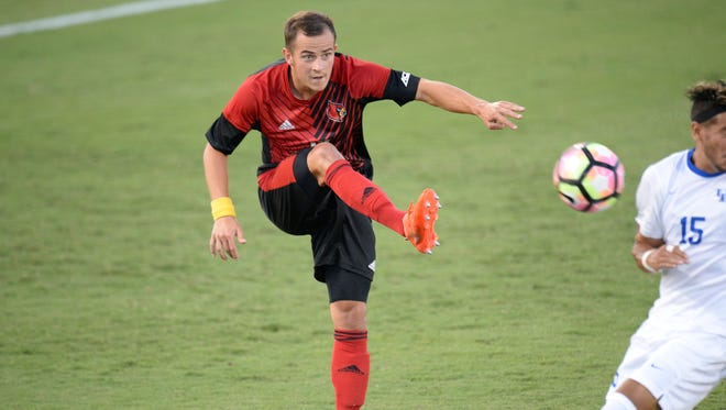 Louisville men's soccer alum Tim Kubel was selected by Toronto FC.