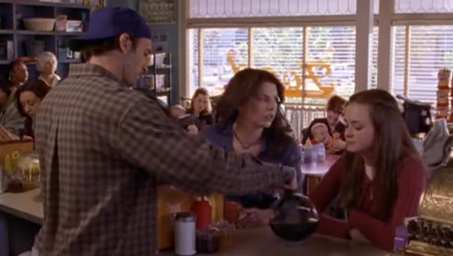 """Gilmore Girls"" fans might notice something familiar about two local coffee shops on Wednesday."