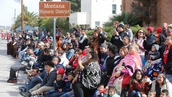 More than 275,000 area residents lined Montana Avenue for the 80th Annual FirstLight Credit Union Sun Bowl Parade Thursday morning. The weather cooperated, allowing the Sun Bowl Parade to live up to its name. Bands, floats and clowns were part of the 92 entrants that participated in this years parade.