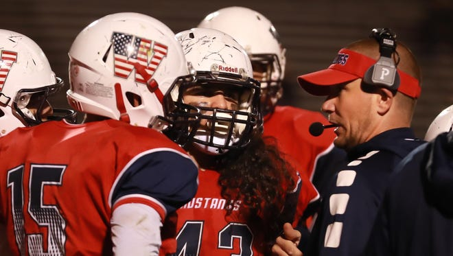 Tulare Western head coach Ryan Rocha and the No. 43 jersey has special meaning for the Mustangs.