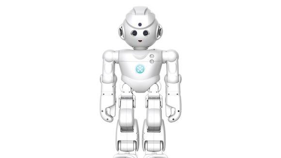 Lynx, a new robot with Amazon Alexa voice commands.