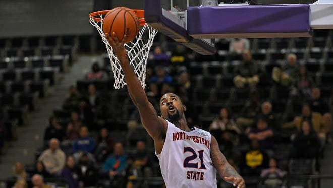 Northwestern State's Sabri Thompson has been named to the Allstate NABC Good Works Team.
