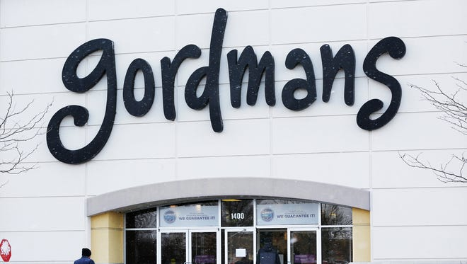 A shopper enters the Gordmans store in the Lafayette Pavilions Tuesday, March 14, 2017, in Lafayette.